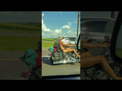 Curtis - Man Wearing Skimpy Underwear Seen Riding Motorcycle On Highway