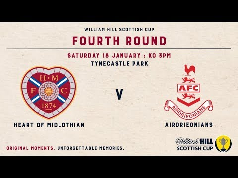 Hearts Airdrieonians Goals And Highlights