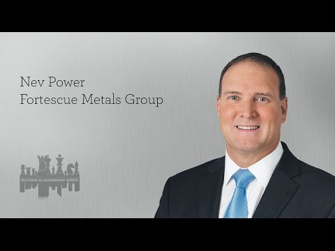 S&L breakfast with Nev Power, CEO of Fortescue Metals Group