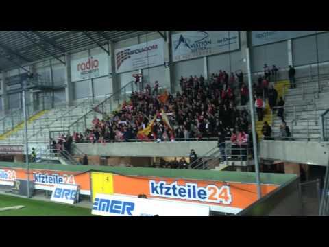 Fußballclub Union Berlin in Weiß und Rot