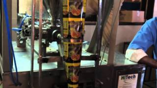 Ginger Garlic Paste Packaging Machine Hitech Machinery India 09892068948