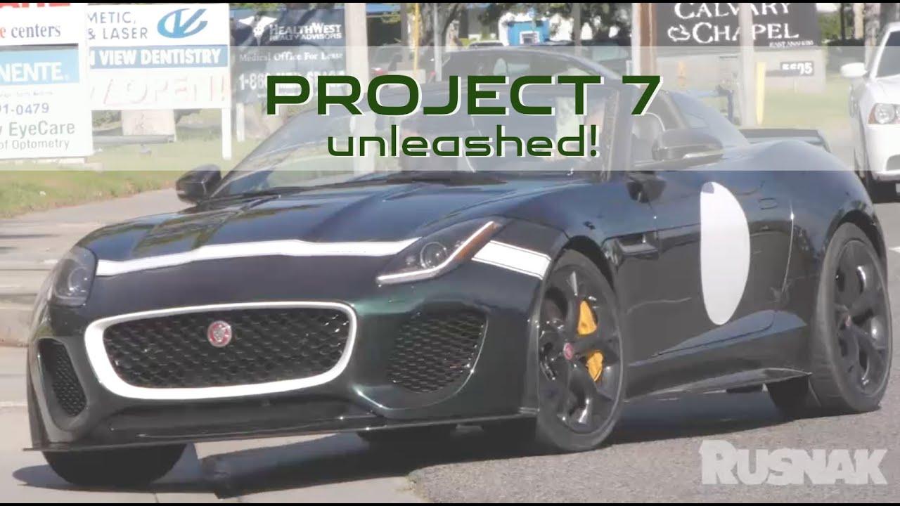 Jaguar Anaheim Hills >> 2016 Jaguar F Type Project 7 Special Delivery At Jaguar Anaheim Hills