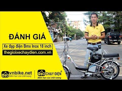 Xe đạp điện Bmx Inox 18 inch