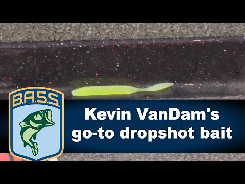 Kevin VanDam's go-to dropshot bait