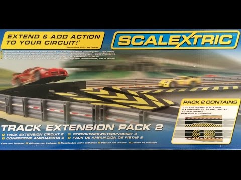 Scalextric Expansion Pack 2 C8511 Demo & Review by Cian