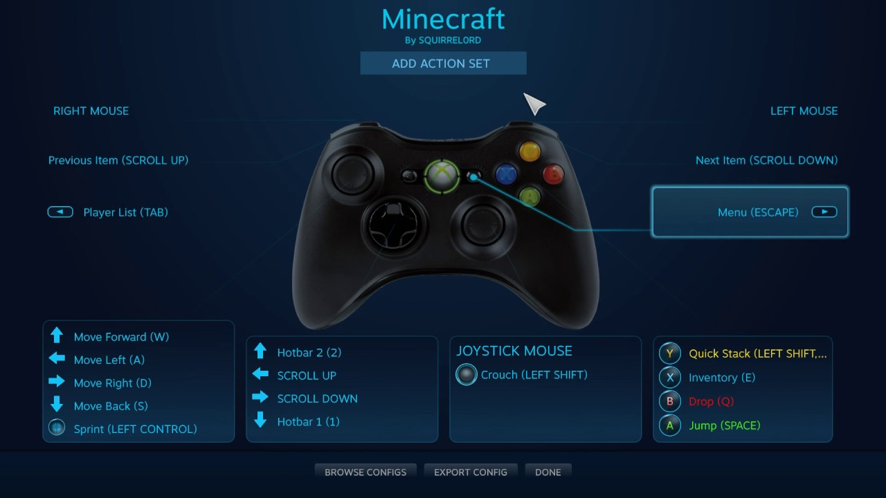 How To Play Minecraft Java Edition With Any Controller (No Mods)