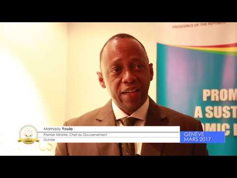 ACF - Doing Business in Guinea : Interview du Premier Ministre Mamady Youla