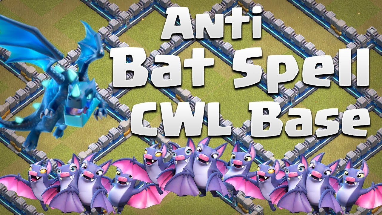 Base War Th 12 Anti Bat Spell 5