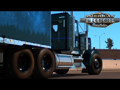 American Truck Simulator: 105mph KW900 Colorado Haul
