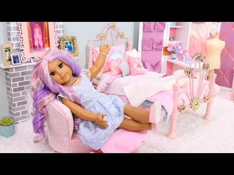 American Girl Doll Bedroom for Descendants 3 Audrey