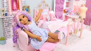 American Girl Doll Bedroom for Descendants 3 Audrey