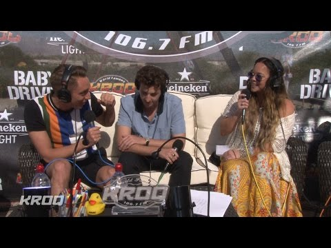 The xx interview - KROQ Party House at Coachella