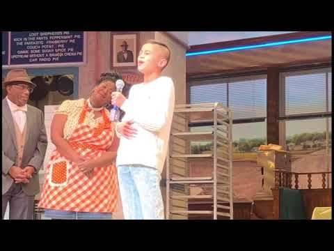 "Adrian Visits Waitress to Sing ""She Used To Be Mine"" Live On Stage!"