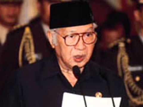Pidato Terakhir Soeharto