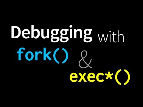 GDB Debugging with fork() and exec()