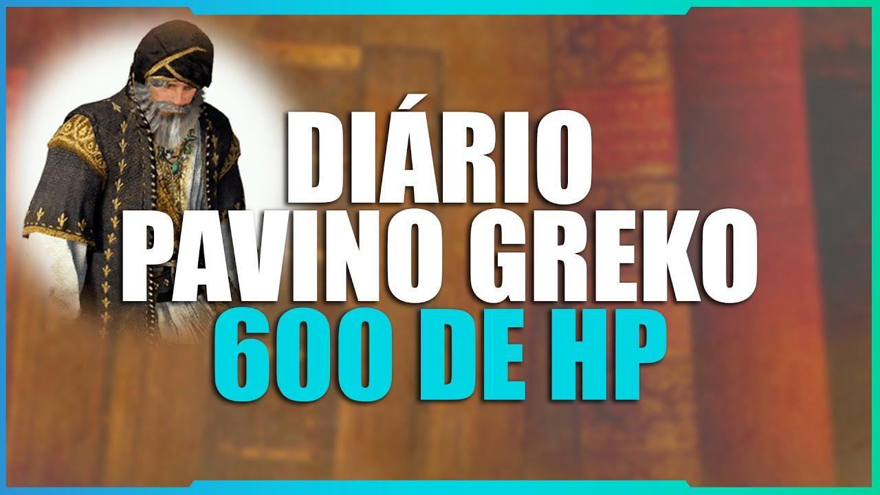 Guia Diário do Pavino Greko (600 HP) - Black Desert SA ‹ Tome Shot ›