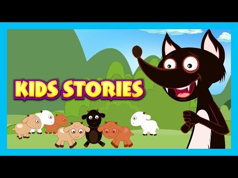 KIDS STORIES - The Wolf and The Seven Goats Story, The Fox & The Jackal