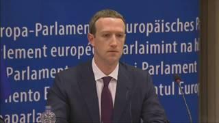 Scandalo Facebook, l'intervento di Zuckerberg al Parlamento europeo