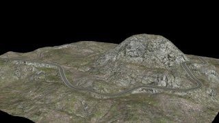 Building complex road and terrain in 3ds max fast and easy