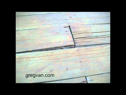 Wood Decking Needs Repairs - Deck Maintenance