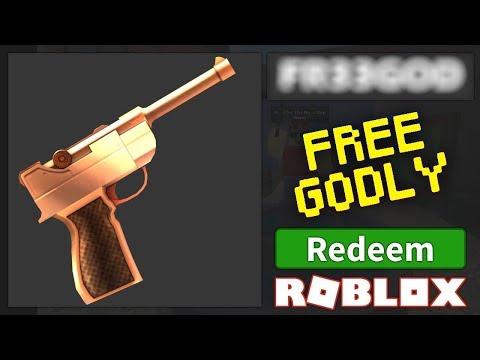 ROBLOX MURDER MYSTERY 2 FREE GODLY GLITCH!!! WORKING ...