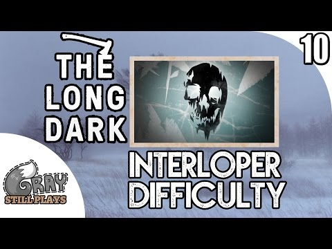 The Long Dark INTERLOPER Difficulty Vigilant Trespass   Snow Shelter For Cabin Fever!    Ep 10