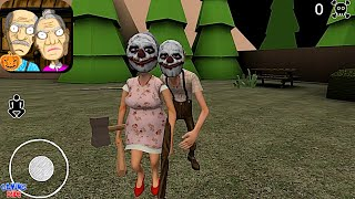 Grandpa And Granny House Escape - Halloween Chapter   Gameplay Walkthrough   Android Gameplay HD