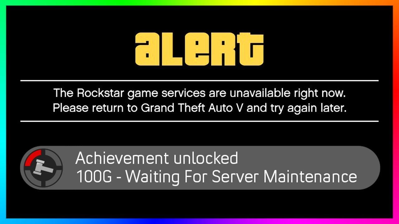 grand theft auto online server status