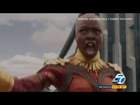 Fans flock to Black Panther screenings at El Capitan | ABC7