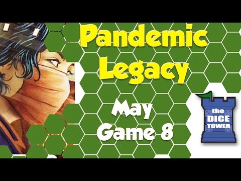 Pandemic Legacy Playthrough: May, Game 8 (SPOILERS)
