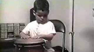 Puerto Rico Percusionistas El bebe conguero parte 4 la mano secreta
