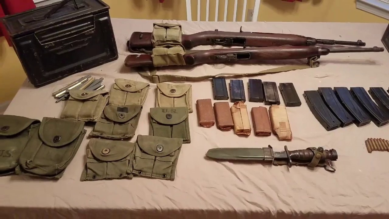 My M1 Carbines And Accessories Collection