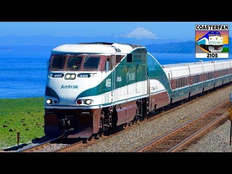 Amtrak Cascades Trains!