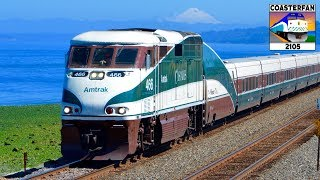 Amtrak Cascades Trains!