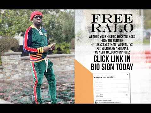 Ralo ASKING to be RELEASED on BOND, record label CREATES online PETITION for FAN SUPPORT