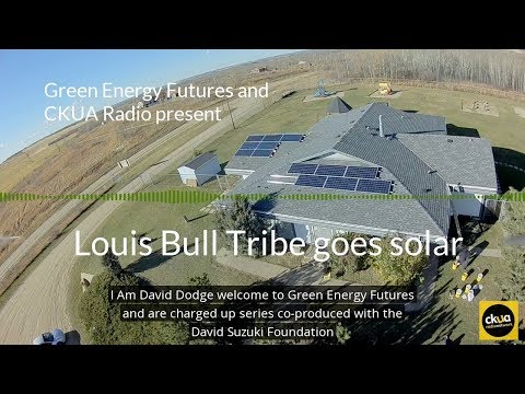 188a. Louis Bull Tribe goes all-in on solar and trains workers with Iron and Earth