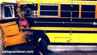 School Bus Slams Into Wall