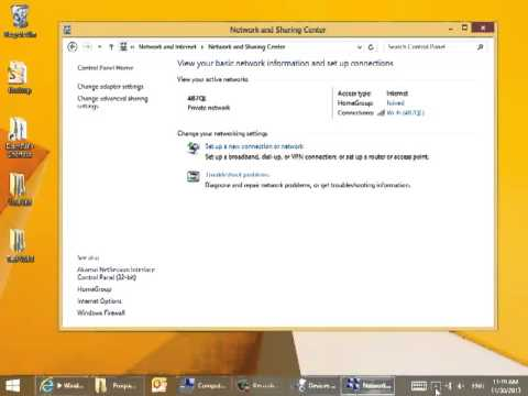how to connect hidden wifi in laptop windows 8
