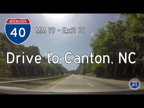 Interstate 40 - Mile 19 - Mile 31 - North Carolina | Drive America's Highways 🚙