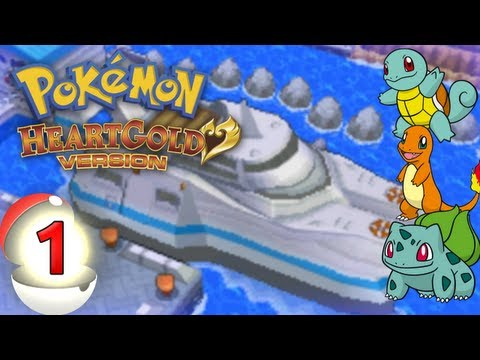 Pokémon HeartGold - (Kanto): Episode 1 - S.S. Aqua