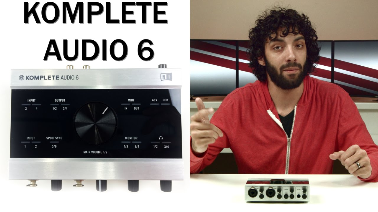 best audio interface under 250 komplete audio 6 review youtube. Black Bedroom Furniture Sets. Home Design Ideas