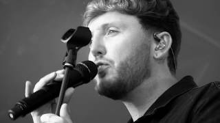 James Arthur - At My Weakest - Closeup -  Mouth Of The Tyne Festival