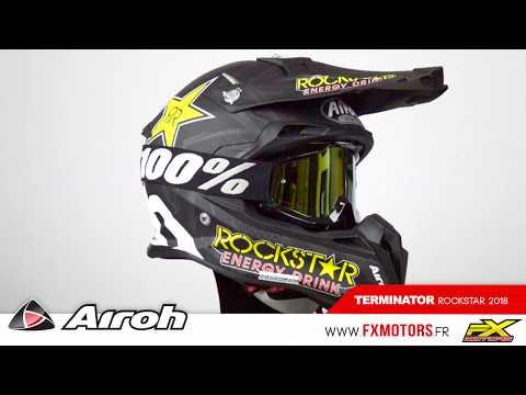 Airoh Terminator Rockstar 2018