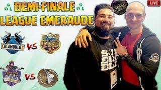 🔴 DEMI-FINALE CCF   Les plus gros clans FR League ÉMERAUDE S