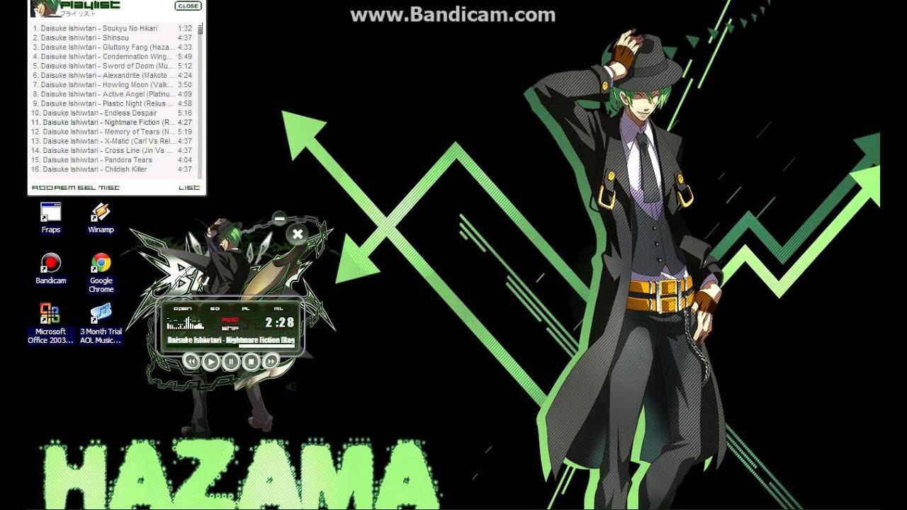 Blazblue: Continuum Shift OST: Nightmare Fiction (Ragna vs Hazama)