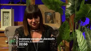 Nobriedis vakars ar Jāni Rozīti. Skaties 8.12.2019.