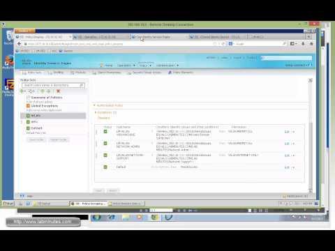 How to Configure Cisco ISE 1 2 Wireless 802 1X Authorization