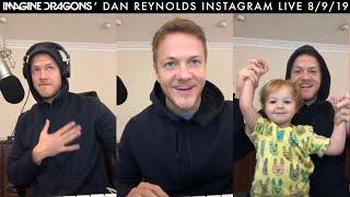 "Baixar Dan Reynolds Creates ""Speechless"" Pt. 1   Instagram Live 8/9/19"