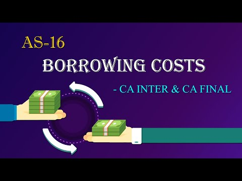AS16 - Borrowing Costs