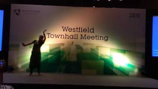Westfield client visit - Classical dance by Manvitha - 2016